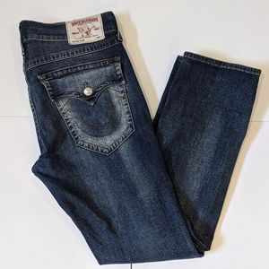 True Religion men's slim jeans sz 38